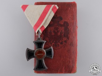 A 1853-1861 Order of Danilo; Knight by Chabillon of Paris