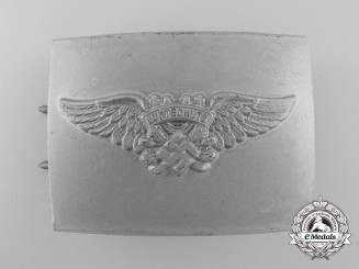 A 2nd Pattern Air Raid Protection League Enlisted Man's Belt Buckle