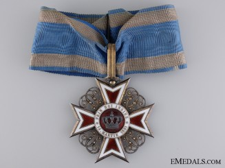 A 1881-1932 Order of the Crown of Romania; 3rd Class