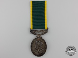 An Efficiency Medal to the Royal Canadian Army Medical Corps