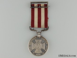 A 1907 Liverpool Shipwreck and Humane Society Medal