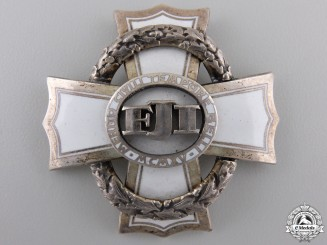 A 1916 Austrian War Cross for Civil Merit; 3rd Class