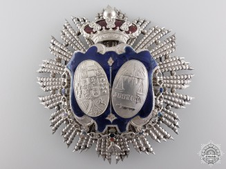 A 1931 Spanish Military Judge Breast Star