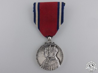 A 1935 George V Jubilee Medal with Broach