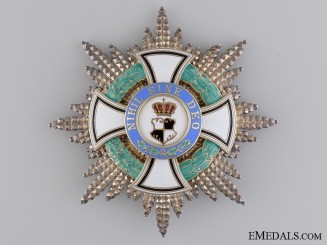 A 1938-40 Romanian Order of the Ruling House; Grand Cross Star