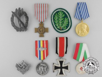 A Lot of Eight European Awards, Decorations, & Medals