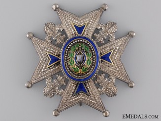 A 19th Century Spanish Order of Charles III; Commander's Star
