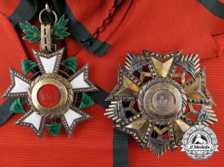 A National Lebanese Order of the Cedar; Grand Cross by A. Bertrand, Paris