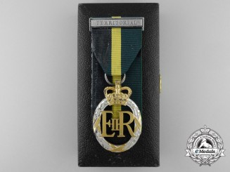 A QEII Efficiency Decoration 1953 with Case