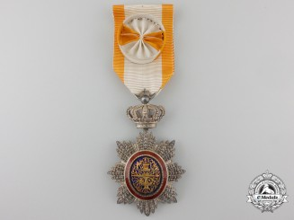 A French Colonial Order of Cambodia; Officer