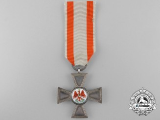 An 1860's Prussian Order of the Red Eagle; Fourth Class