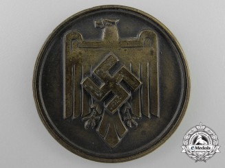 A 1937 DRL Gau XV Black Forest Sport Competition Medal