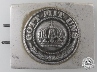 A First War German Imperial EM/NCO's Belt Buckle