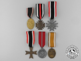Six First War German Imperial Medals and Awards