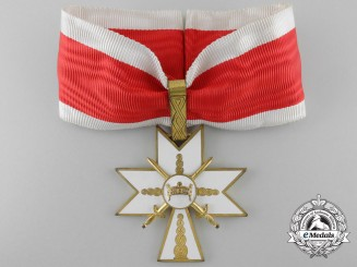 A Croatian Order of King Zvonimir 1941-1945; First Class with Swords