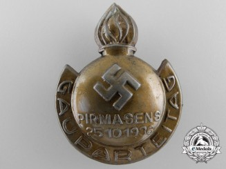 A District Party Day at Pirmasens 1936 Tinnie