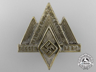 A 1935 HJ Franconia District Area 13 Mountain Camp at Hesselberg Tinnie