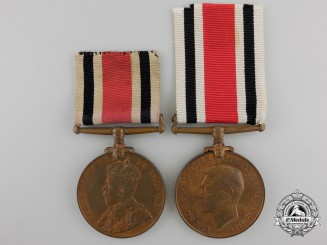Two Constabulary Faithful Service Medals