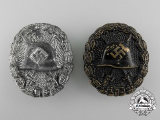 Two Early Kondor Legion Wound Badges