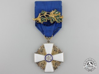 An Order of the White Rose of Finland; Officer's Breast Badge