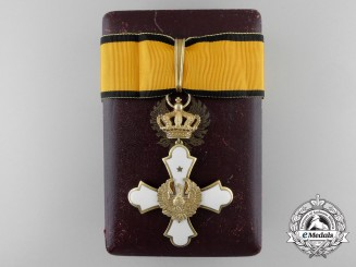 A Greek Order of the Phoenix; Commander with Case