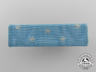 A United States Medal of Honor Ribbon Bar; Vietnam Period