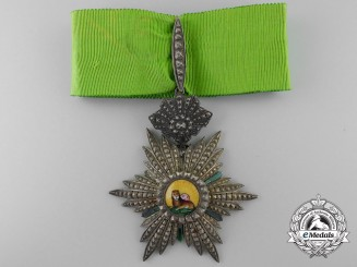 An Iranian Order of the Lion and the Sun; Third Class Commander