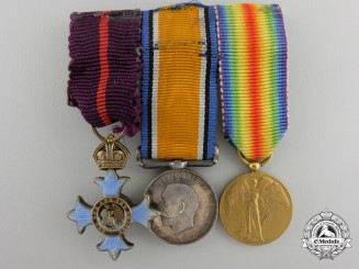 A First War Order of the British Empire (CBE) Miniature Group