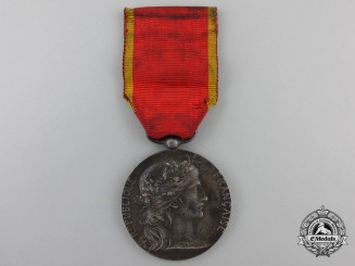 A French Medal of the East Industrial Society