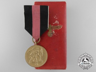 A Commemorative Medal for 1 October 1938 with Case