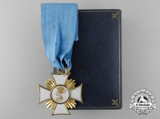 A Württemberg Order of Friedrich in Gold; Knight First Class