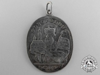 An Austrian Leopold III and Agnes of Waiblingen Medal