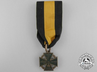 An Austrian Army Cross 1813-14; Cannon Cross