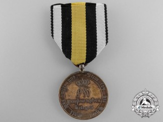 A Napoleonic 1814 Prussian Campaign Medal