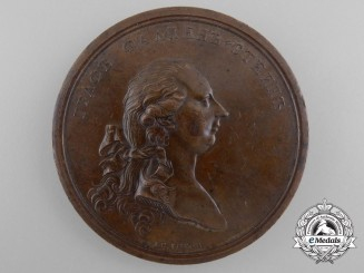 A 1780 Imperial Russian Visit of the Holy Roman Emperor Joseph II to Russia Medal