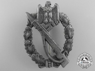 An Army/SS Infantry Badge; Silver Grade by S.H.u.Co