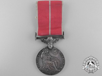 A British Empire Medal to Flight Sergeant Nicholson RCAF