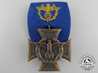 A German Customs Service Decoration; Court Mounted