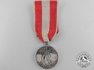 A Danish Long Service Medal