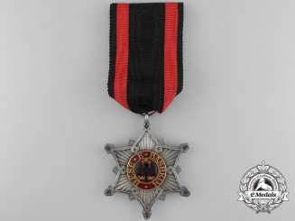 An Albanian Order of the Black Eagle; Knight's Cross