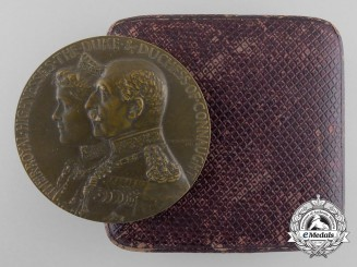 A Canadian Governor General's Academic Medal 1911-1916 with Case
