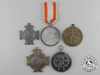Five Prussian Medals, Decorations & Awards