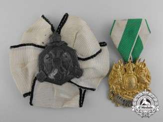 Two First War German Recognition Badges