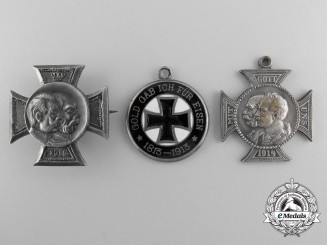 Three German Imperial Iron Cross Badges