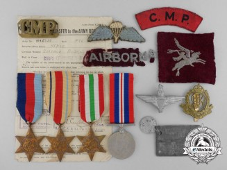 A 1st Airborne Group to Corporal Neave who was Captured During Operation Husky 1943