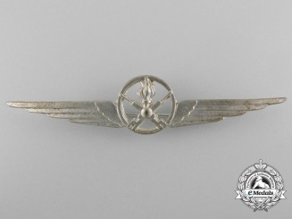 A Second War Royal Italian Air Force Armourer Qualification Badge
