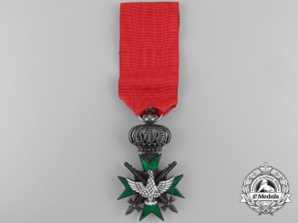 A Saxe-Weimar Order of the White Falcon; Knight with Swords