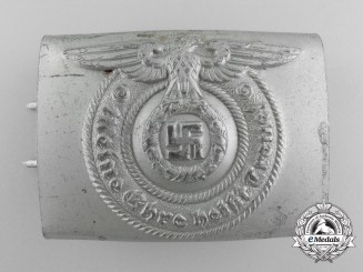 An SS EM/NCO's Belt Buckle by Overhoff and Cie