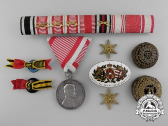 A Lot of Austrian Badges, Awards, and Insignia