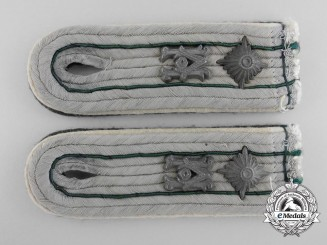 A Set of German Army Administrative Officers Shoulder Boards